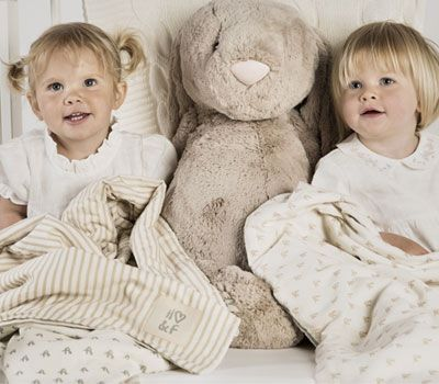 Hope & Fortune - organic cotton baby blankets