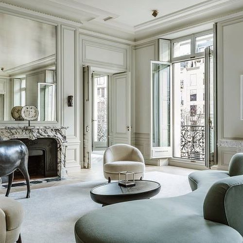 Joseph Dirandu0027s Lavishly Executed Avenue Montaigne Apartment. (Image:  Martin Morrell) (at Avenue Montaigne)