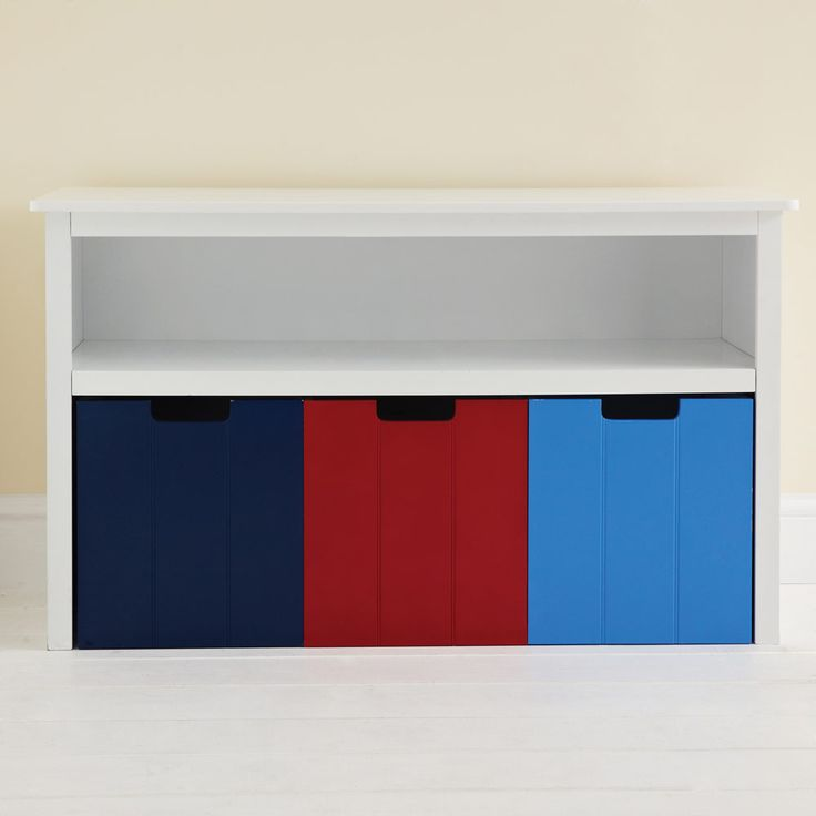 Easy Reach Storage Unit Coloured Drawers Toy Bo