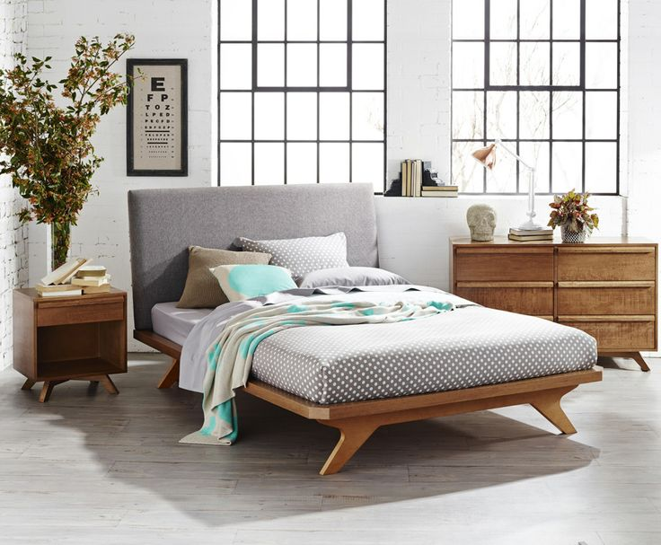 Calibra Bed Frame and Bedroom Furniture. Natural Flair Magazine Photos | Domayne Online Store