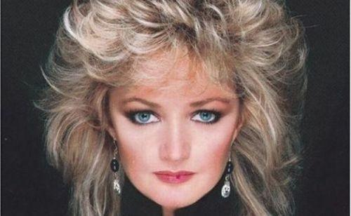 Bonnie Tyler Vintage Make Up 80s Pinterest