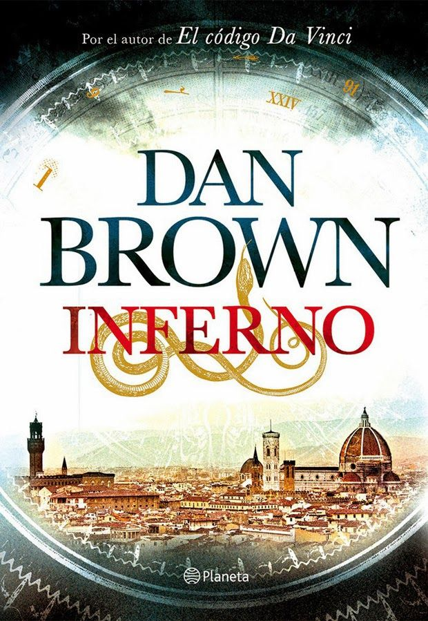 Dan Brown: Inferno | spanish cover | #book #DanBrown #cover