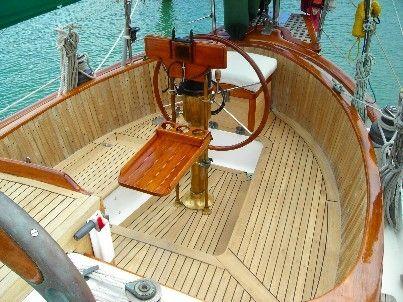 Hans Christian Cockpit Boats Yacht Interior