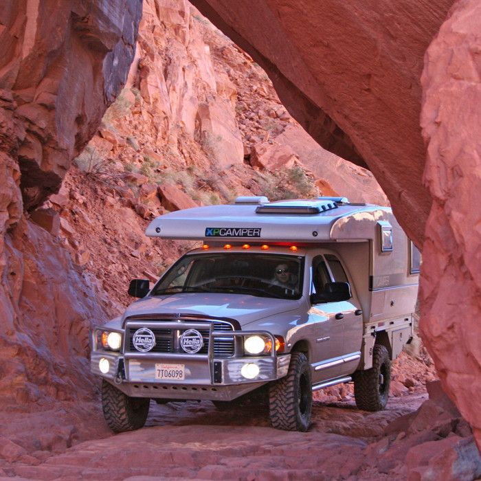XP Camper - pop up truck bed camper