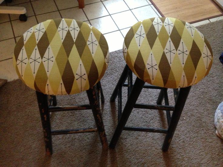 paul mccobb pair of two bar stools very rare available tomorrow