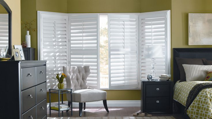 Contemporary Shutters from Budget Blinds<br/>