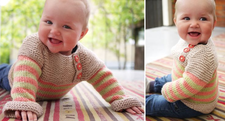 CUTE: Cute Baby, Free Pattern, Knits Patterns, Baby Sweaters, Learning To Knits, Cuuut Baby, Bullsey Baby, Knits Knits, Baby Stuff
