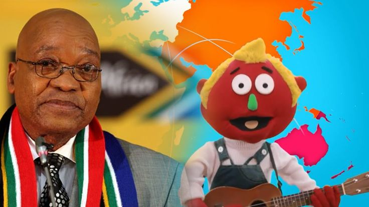 Zuma Geography fail: Africa 'biggest continent in the world