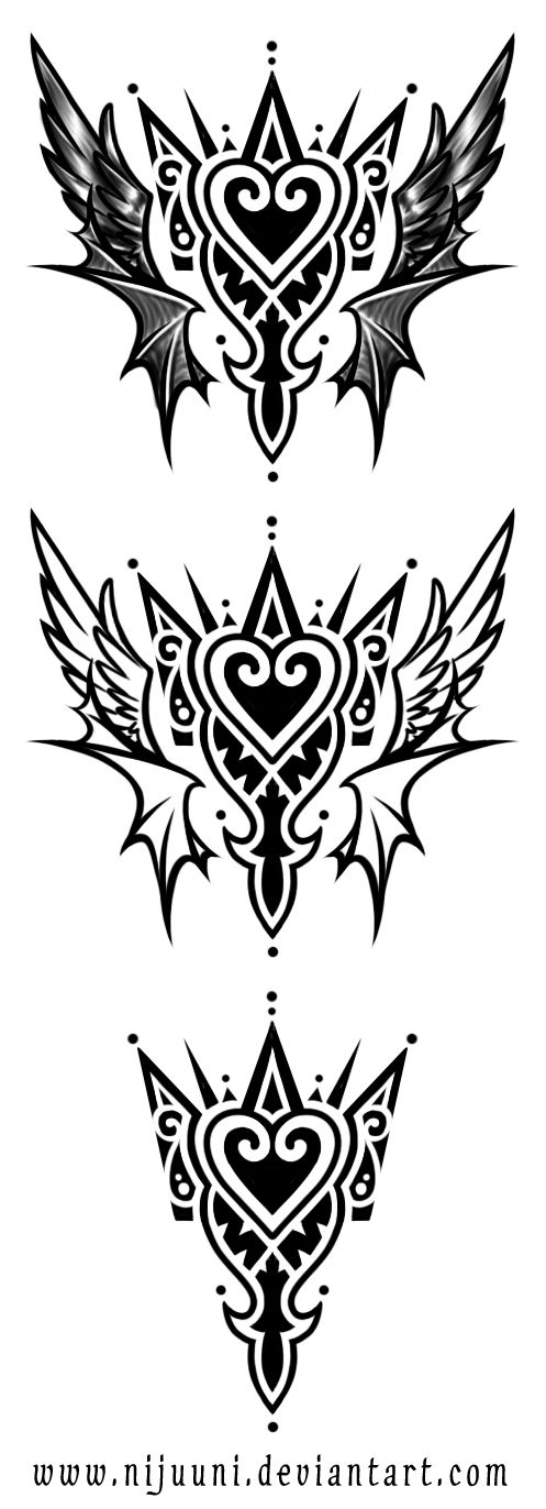 KH Emblem Tattoo  by *Nijuuni on deviantART