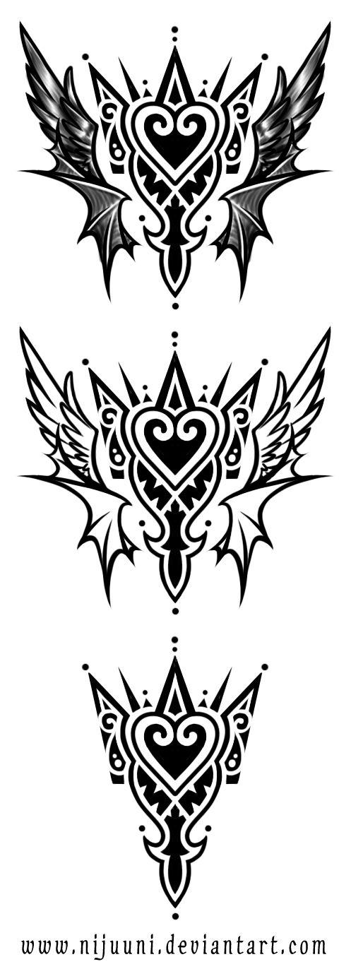 KH Emblem Tattoo  by *Nijuuni on deviantART