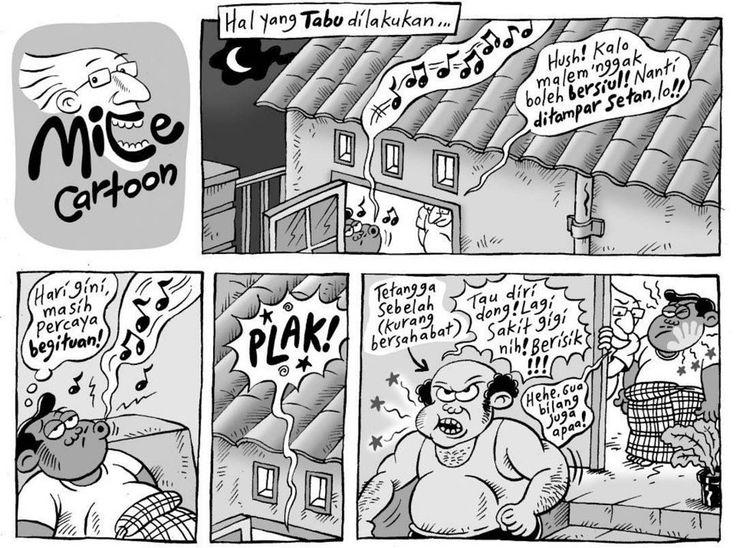 Mice Cartoon, Kompas Minggu: Tabu Dilakukan