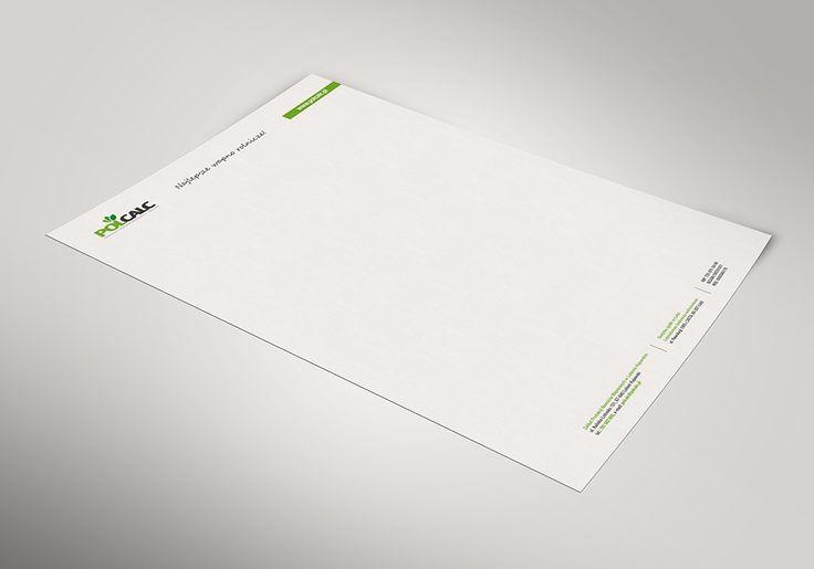 Polcalc Letterhead Design