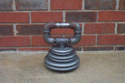 Homemade kettlebell...adjustable weight