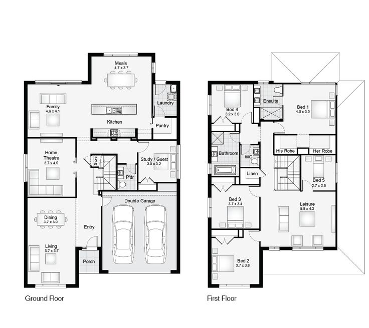 52 best Home Floor Plans images on Pinterest | Blueprints for ...