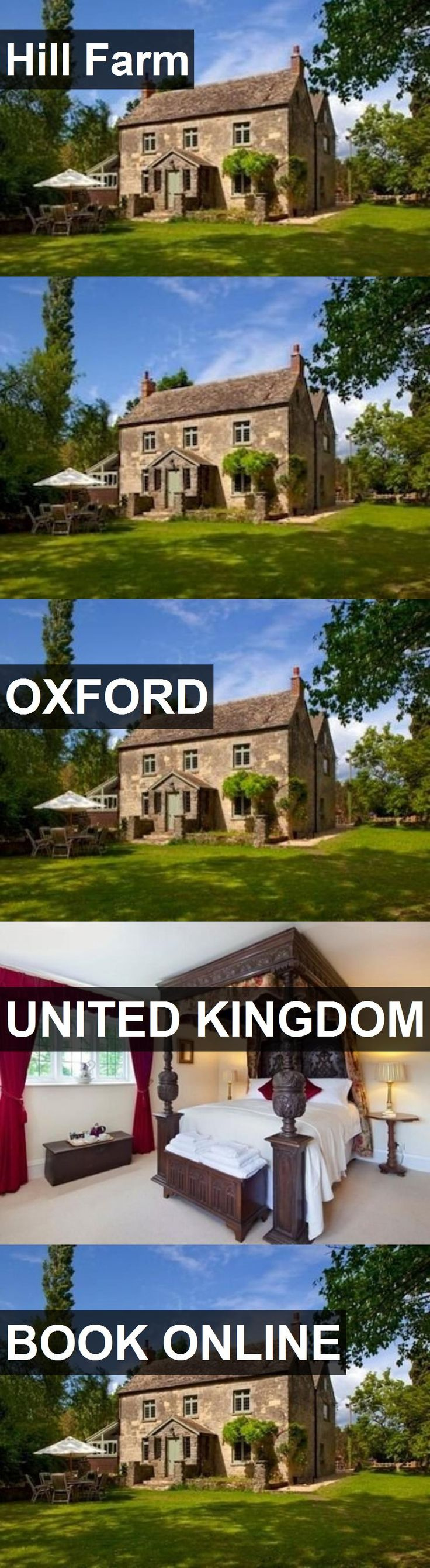 Hotel Hill Farm in Oxford, United Kingdom. For more information, photos, reviews and best prices please follow the link. #UnitedKingdom #Oxford #HillFarm #hotel #travel #vacation