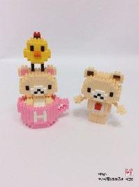 나노 미니 블럭 곰순이 (nano block bears) http://blog.naver.com/koreapaperart                                  #나노블럭 #미니블럭 #주문제작 #수강문의 #miniblock #nanoblock #인테리어소품 #촬영소품 #광고소품 #곰돌이 #곰순이