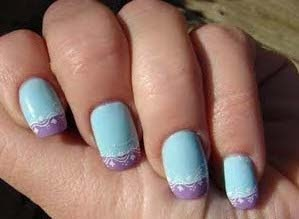 * Ⓕ *   NAIL Art      Fingernail and building NAILS        / German Nails Art Design Idea