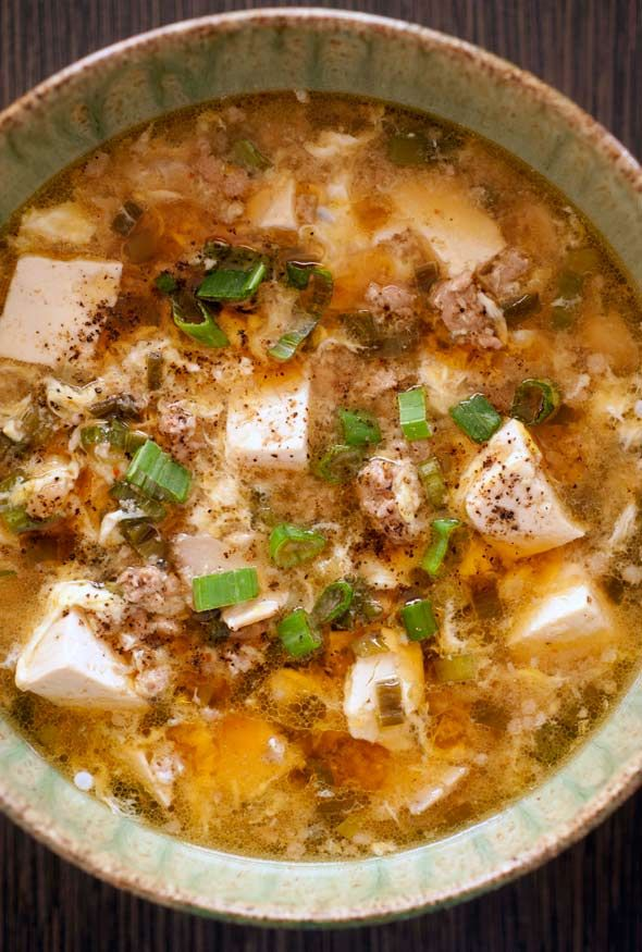 Mama Chang's Hot and Sour Soup - the best hot and sour soup recipe known to man will make it low carb