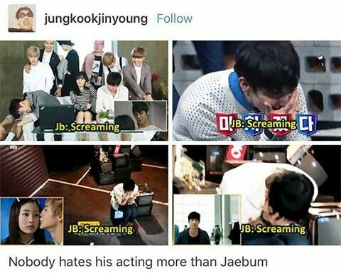 Jb is his own biggest critic... he's good though? I think he's good