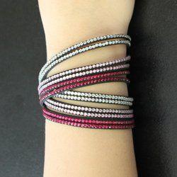 2842 Sparkle Snap Bracelets (set of 5)
