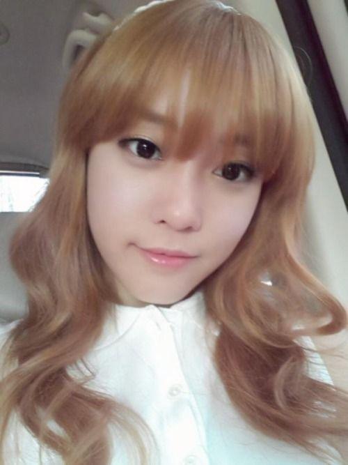 i like her bangs woori goo