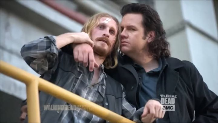 "Talking Dead clips from actors and crew for S7 Ep11 ""Hostiles and Calamities"" #thewalkingdead #twd #thewalkingdeadseason7 #twdfamily #twdfinale #amc #walkingdead #rickgrimes #andrewlincoln #norman #normanreedus #daryl #dixon #michonne #chandler #chandlerriggs #carl #carlgrimes #carol #negan #lucille #maggie #glenn #love"