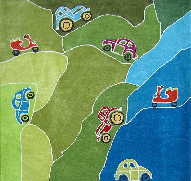 Happy Rugs w Limango - dywan do pokoju dziecięcego w auta