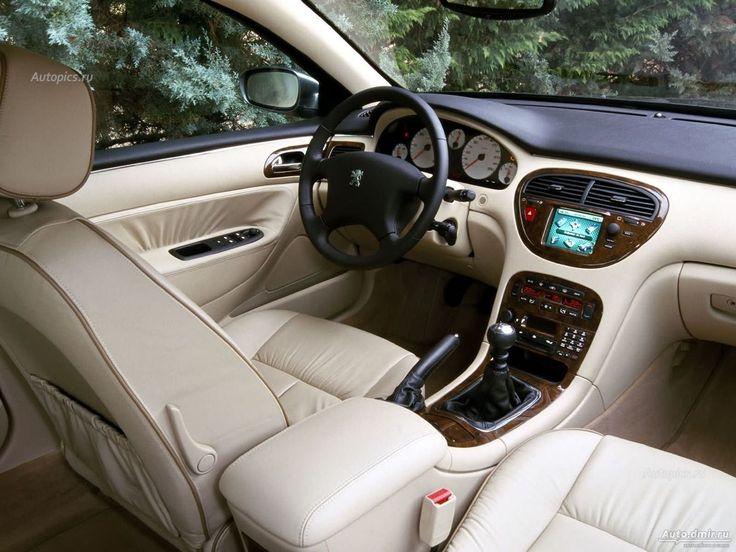 Interior Of Peugeot 607