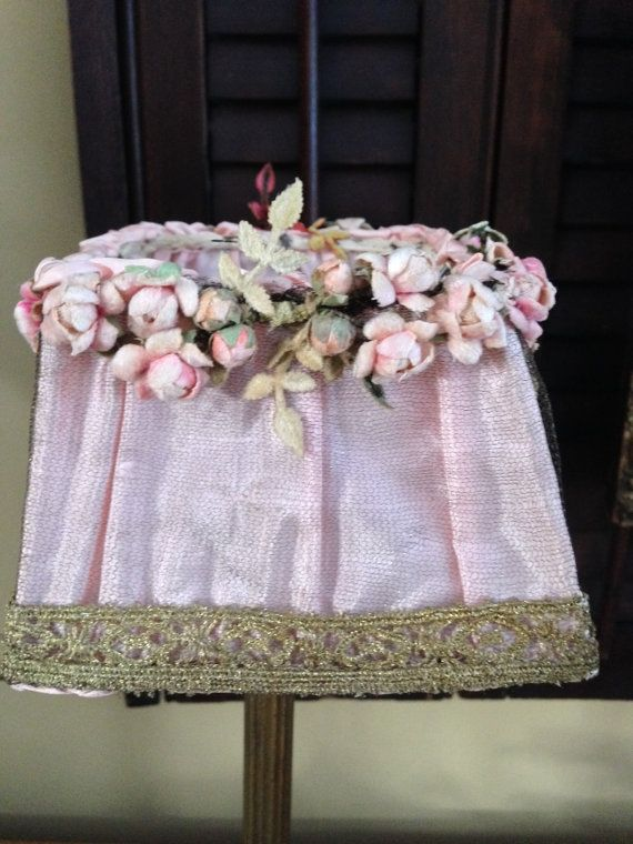 Vintage French Lamp Shade by WesternReserve on Etsy