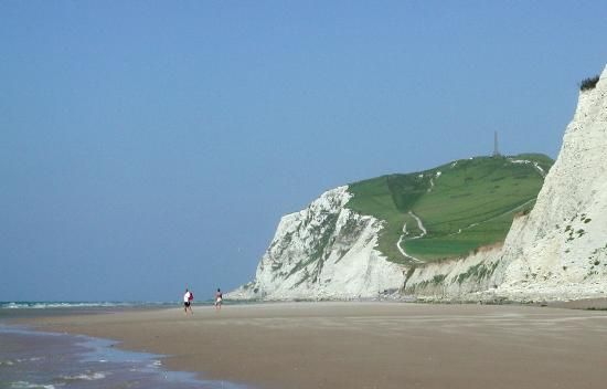 Calais France - some of the most amazing views I've seen were from Calais across the channel to Dover.