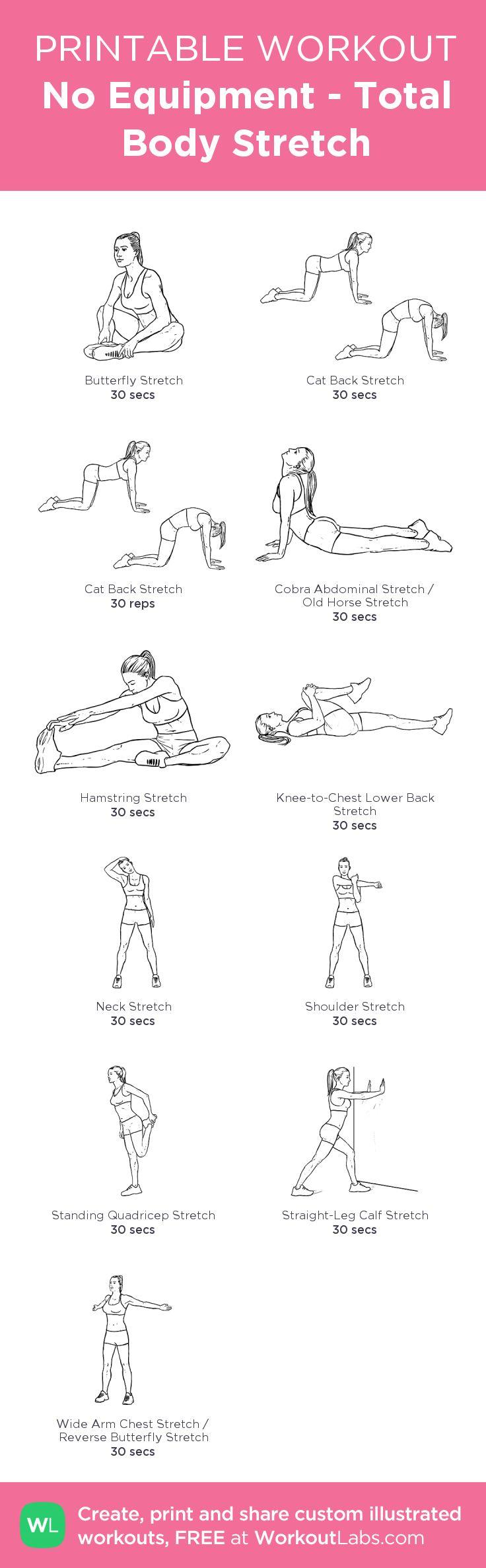 No Equipment - Total Body Stretch