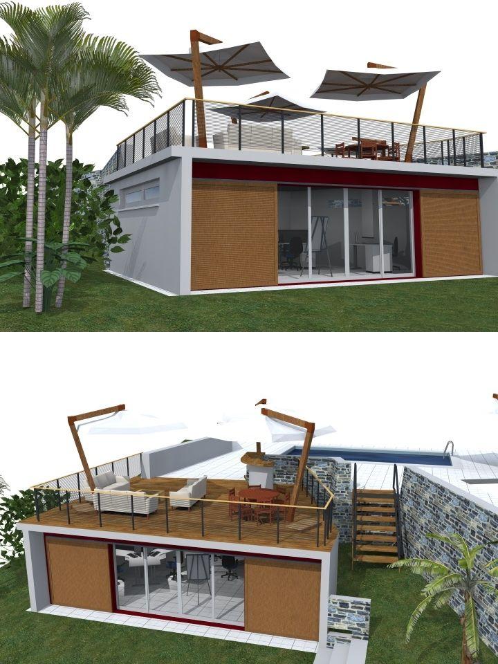 7 best Dessins 2015 images on Pinterest My drawings, Building and - plan maison demi sous sol