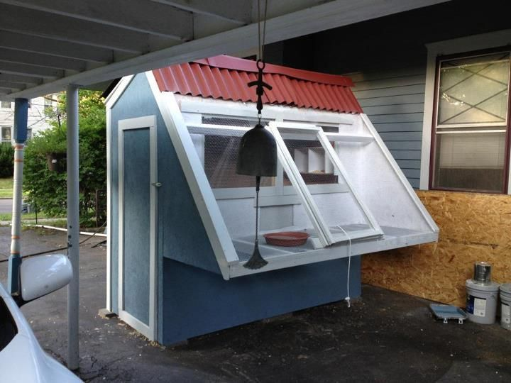 Small coop for flock of pigeons or doves original source for Pigeon coop ideas