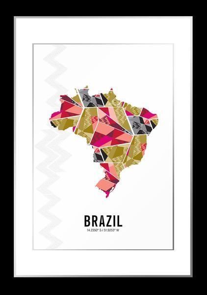 International Maps – JHill Design Map Prints