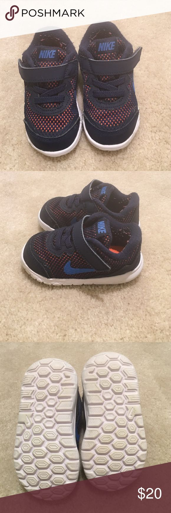 Nike boy's toddler sneakers The Nike boy's toddler sneakers are in perfect condition. The size of the sneaker is a 5. Nike Shoes Sneakers