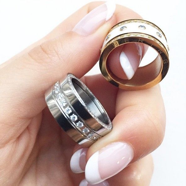 Rings; Arctic Symphony Collection; Individual rings