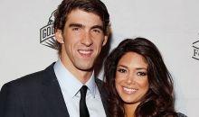 Michael Phelps and fiance Nicole Johnson