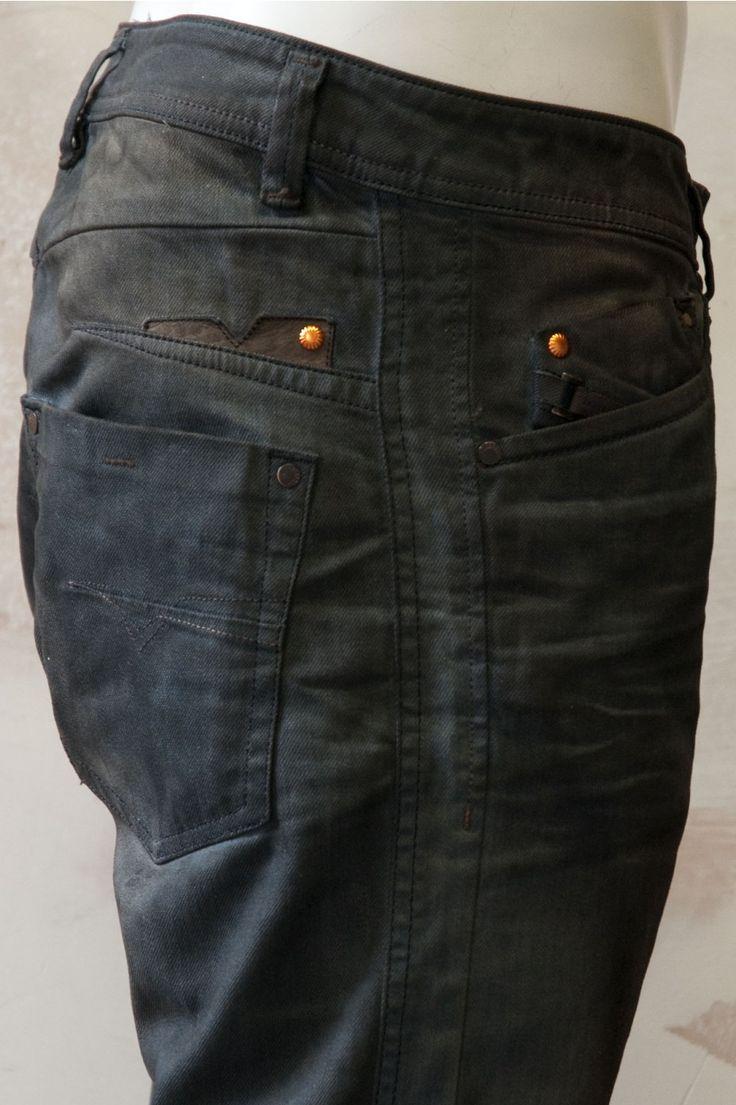 Diesel Men's Denim Jeans Darron 886A Tapered