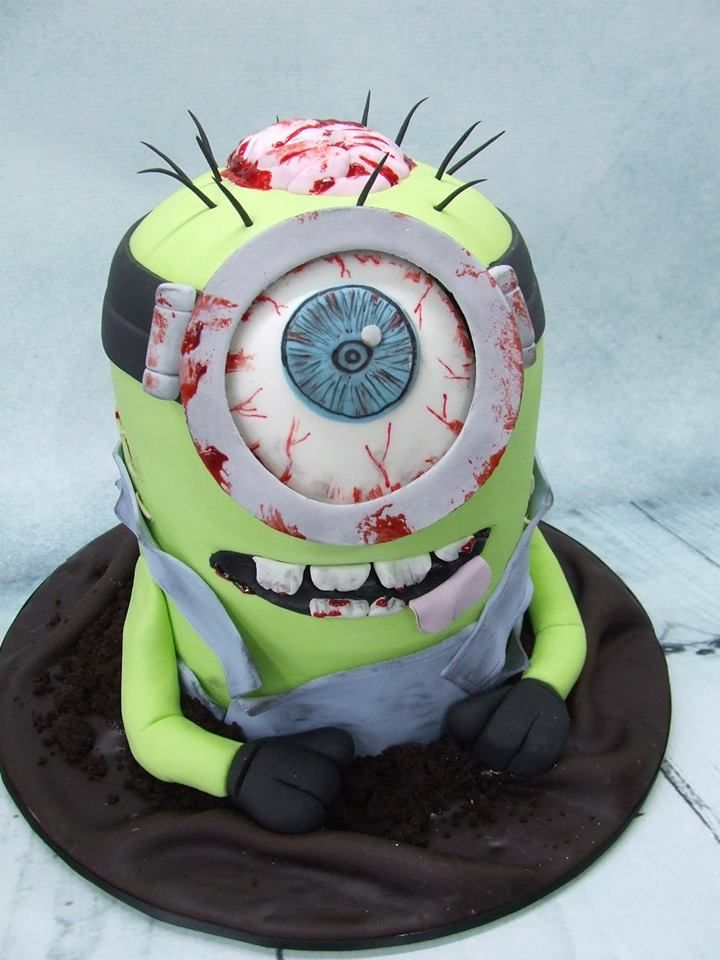 Best 25 Zombie Cakes Ideas On Pinterest Zombie Birthday