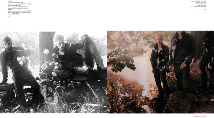 Photographer David Slijper. Mens fashion editorial. Splendour in the grass. Art Dir. One8One7. Marcus Piper & Chrstiy Johansson.