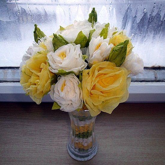 Papírové květiny - Janinčino jaro :) | Moje mozkovna