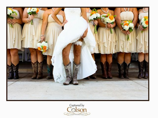 Awesome shot, if we were gonna wear cowboy boots!!!