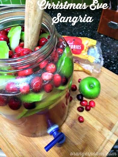 "Do you need a last minute sangria recipe for tomorrow night's Christmas Eve celebrations? Well, I've got you covered! As many of you know, my family is of Cuban/Spanish decent, so we live it up on Noche Buena (the Good Night aka Christmas Eve!). The ""Cena de Navidad"" or Christmas dinner for Cuban/Spanish families is…"