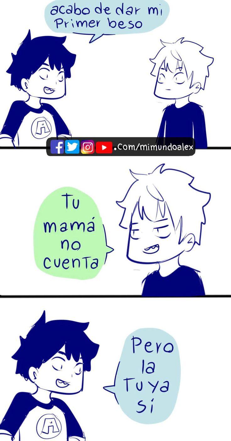 Mi mundo Alex. ← en 2020 Memes divertidos, Memes español