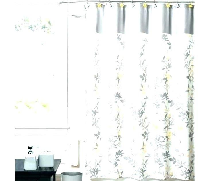 shower curtain size chart sizes length