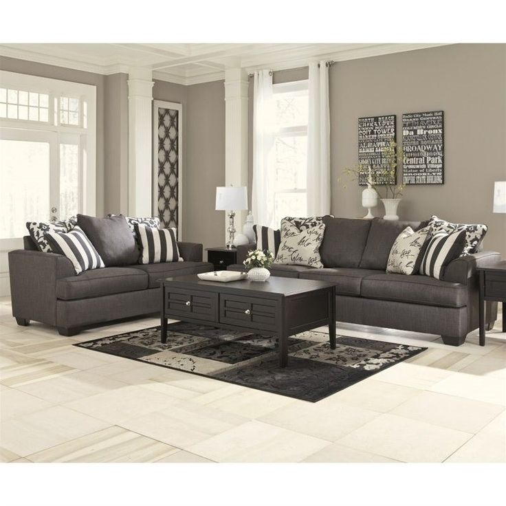 Ashley Furniture Manufacturing: Best 25+ Charcoal Living Rooms Ideas On Pinterest
