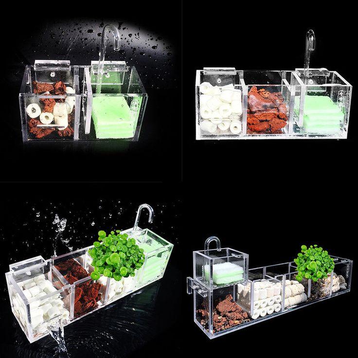 Aquarium External Filter Box Fish Tank Filter Box without Water Pump Water ~ | Pet Supplies, Fish & Aquariums, Filters | eBay!