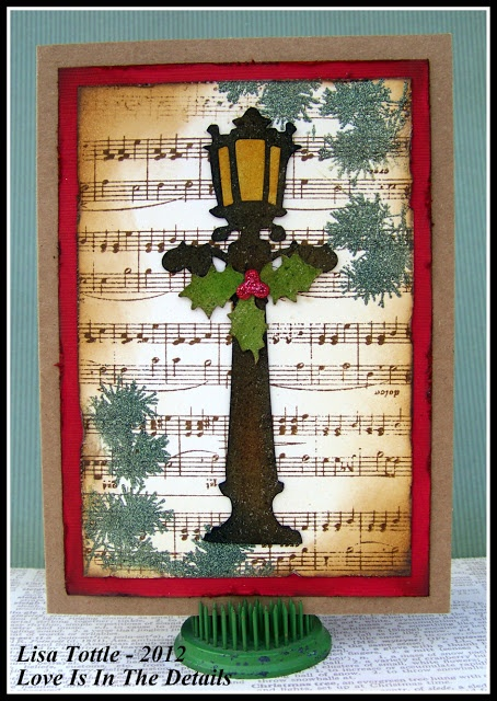 sizzix tim holtz rangerwhat could be better christmas card christmas pinterest vianon pozdravy