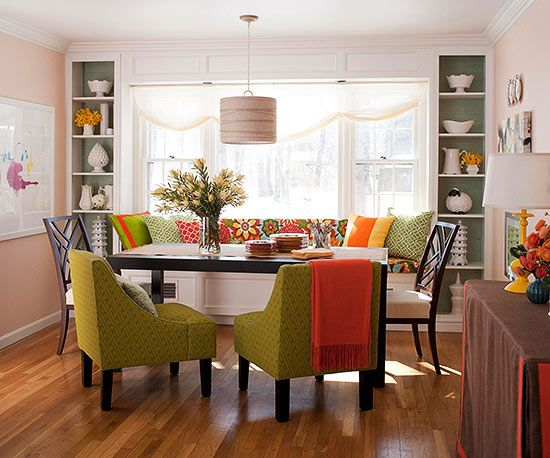 12 Best Images About Dining Room On Pinterest Captivating Window Seat In Dining Room Decorating Design