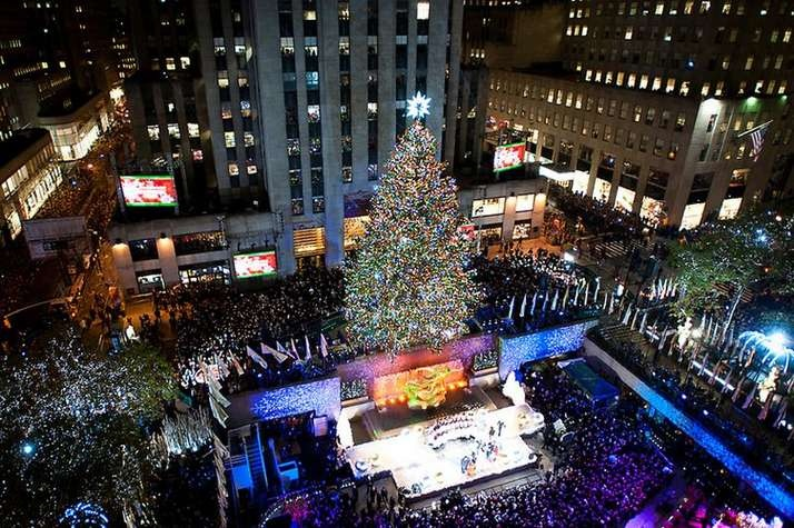 Rockefeller Plaza, New York - Christmas